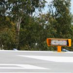 Avlite's Helipad Flood Lights at Frankston Hospital
