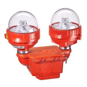 FAA L-810 Dual Fixture low intensity LED obstruction light