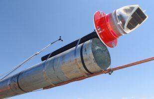 Red Obstruction Light for wind tower – AV-70