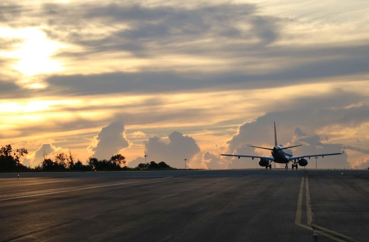 AV-70 Solar LED Taxiway Lights Provide Flexible Solution for Major International Airport During Construction