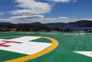 Royal Hobart Hospital Helideck Helps Save Lives