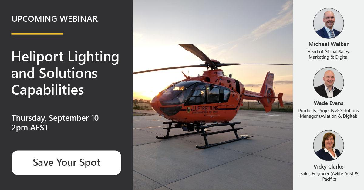 [Webinar] Heliport Lighting and Solutions Capabilities