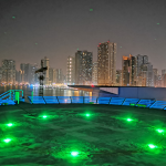 Inset and Solar Heliport Helps UAE Fight COVID