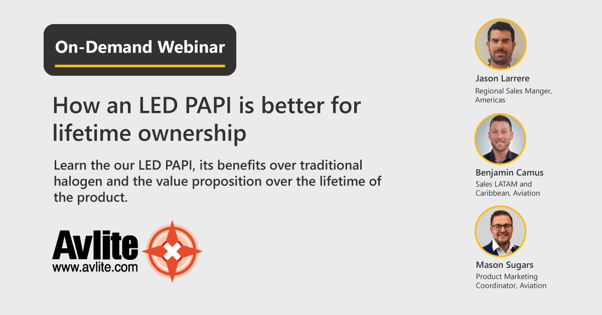 [WEBINAR] How an LED PAPI is better for lifetime ownership