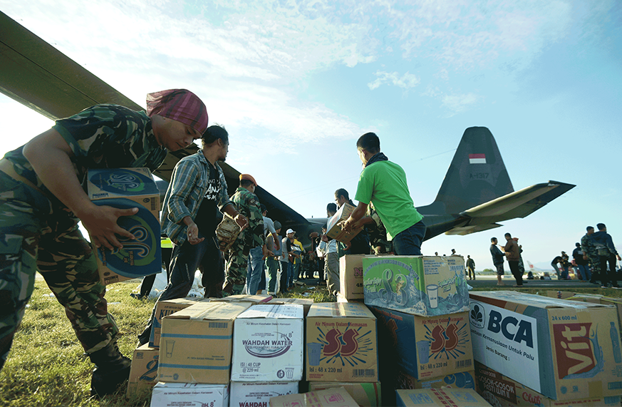 How are Humanitarian Military Operations More Effective with Expeditionary Systems?
